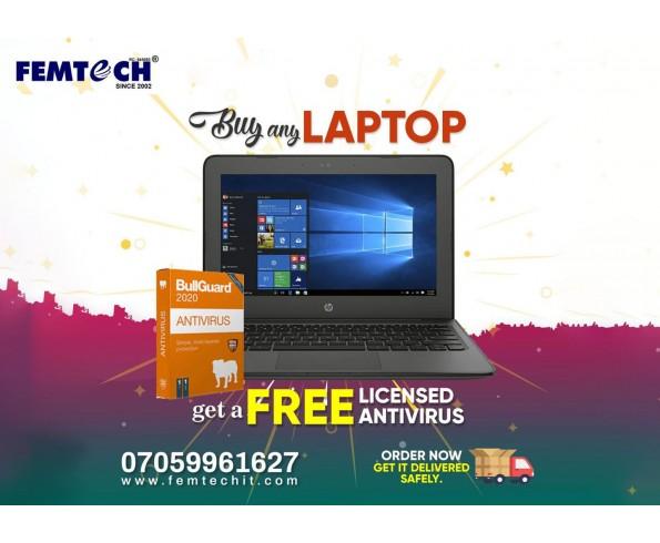 buy LAPTOP, Get Antivirus