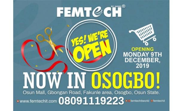FEMTECH NOW IN OSOGBO