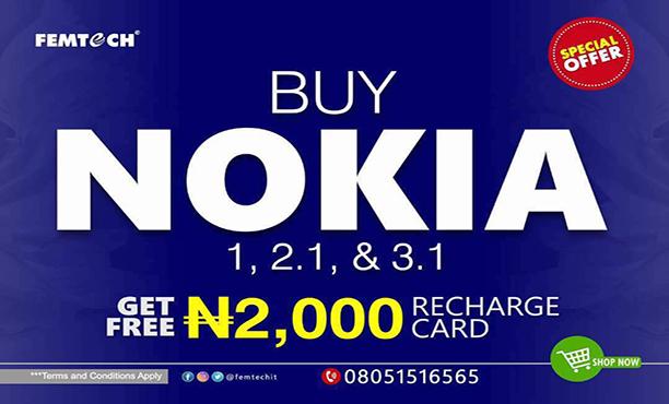 Nokia 2 Rechrage Promo