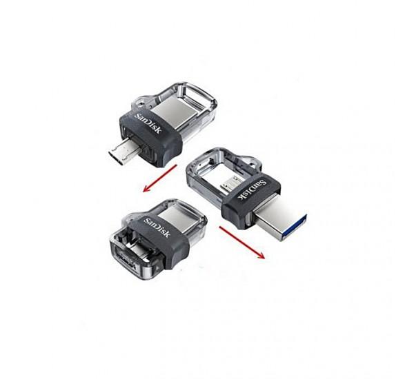SanDisk 128GB Ultra OTG Dual USB Flash Drive 3.0