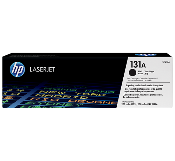 HP 131a  Black Cartridge
