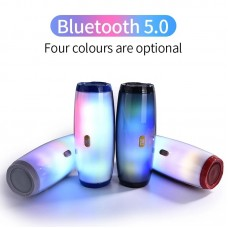TG 165 Portable Bluetooth Speaker Stereo Subwoofer With LED Lights Outdoor Wireless Music Box