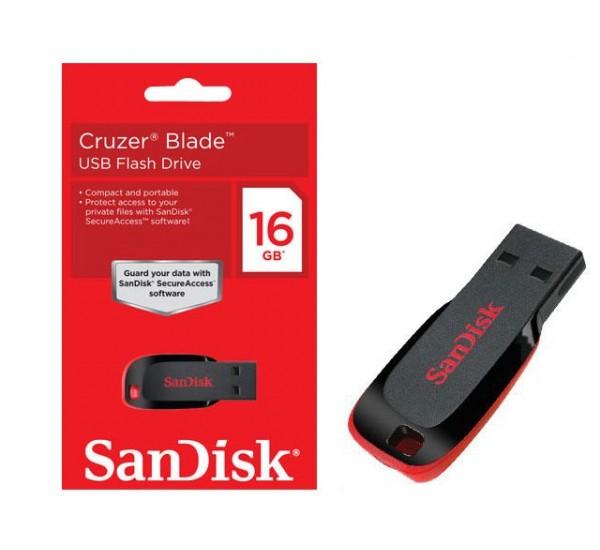 16GB SanDisk Flash Drive