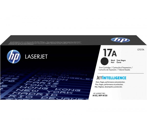 HP 17A Black Laserjet Cartridge