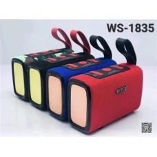 Wster Ws-1835 Portable Wireless Bluetooth Speaker