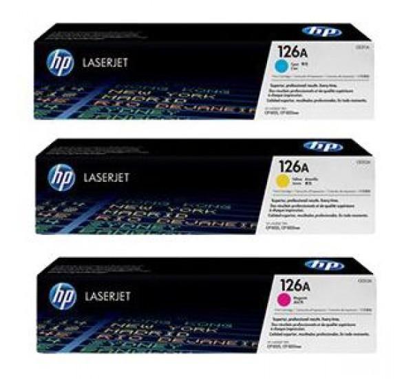 HP 126A Color Laserjet Cartridge (NGN  25,500 each)
