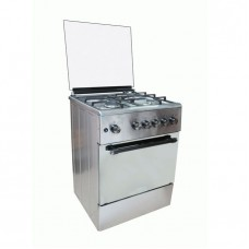 Maxi 6060 -3 Gas Burners  + 1 Electrical -  Maxi 6060( 3+1) Wood Standing Cooker