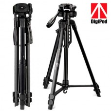 """Digipod TR472 67"""" Professional Tripod 3 Way Panhead Ball Head with Bubble Level For SLR Cameras Camcorder"""