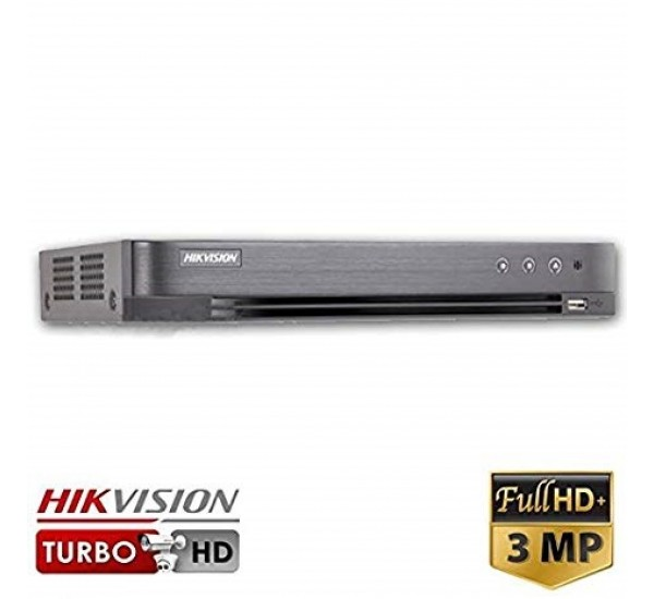 Hikvision DS-7204HQHI-K1 4 Channel Turbo HD Hybrid DVR (3MP, TVI, IP, AHD, 960H, Analogue)