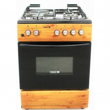 Scanfrost SFCK6312 Gas Cooker With 3 Gas Burners + 1 Electric Hotplate