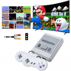 Super SFC Retro Game Console,Classic Mini with Built in 620 Games and 2 Pack Controller Consoles