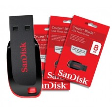 SanDisk 8GB Cruzer Blade Flash Drive - Black