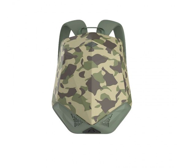 Brave Bluetooth Speaker Backpack with 5000mAh Power Bank Nylon Dark Camouflage