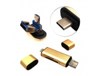 USB A/C 3in1 Card Reader
