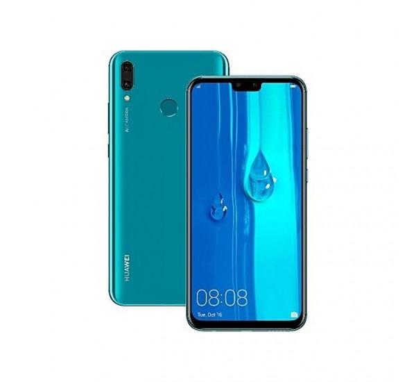 "Huawei Y9 (2019) 6.5"" (64GB+ 4GB Ram) Android 8.1 Oreo, (16MP + 2MP)+(13MP + 2MP) 4000 MAh"