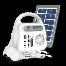 SE04 Mobile Power Bank With 2 Light Bulbs, 6000 mAh Battery