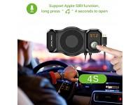 T15 FM Transmitter Rotatable Bluetooth Car Kit  & ..