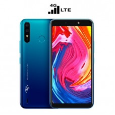"Itel A56 LTE 5.99"", 16GB ROM + 1GB RAM, 4G, 4000mAh, 8MP + 5MP Camera, Fingerprint & Face ID"