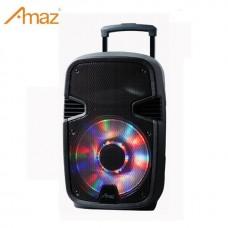 AMAZ AL1234C 12 inch BT Speaker Public Address System Party Speaker