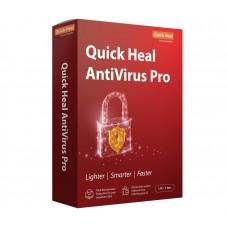 Quick Heal Antivirus Pro - 5 PCs User , 1 Year (DVD)