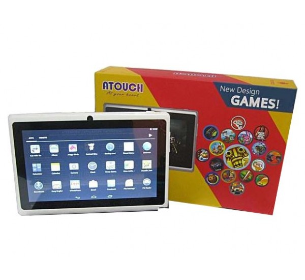 Atouch Kid's Tablet 7 Inch, 8GB, 1GB Wi-Fi, Quad Core