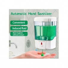600ML Automatic Smart Sensor Anti-Bacterial Hand Sanitizer Wall Mounted For Personal Hygiene At Home, Company, Hospital, Schools