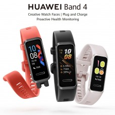 Huawei Band 4 Smart Watch Heart Rate Smart Band Music Control Health Monitor New Watch Faces USB plug Charge