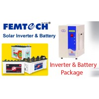 600 Watts NewStar Inverter + Battery Package