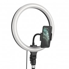 Baseus Dimmable LED Selfie Ring Light & Tripod USB Live Stream Holder For Table & Floor Stand 10/12inch