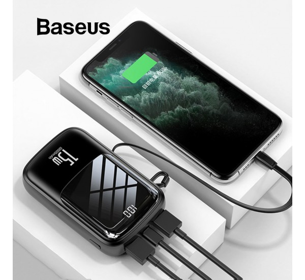 Baseus BS-P1002L 10000mAh Qpow Digital Display 3A 15W Power Bank