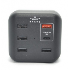 BRAVE 6 PORTS SMART POWER USB CHARGER ADAPTER