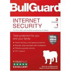Bullguard Internet Security 3 User / 1 Year