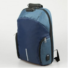Chuxiang New Design Anti Theft  Large Capacity Laptop Traveling Backpack Bag with Password Lock System