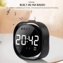 Table Alarm Clock Bluetooth Speaker, Mirror Displa..