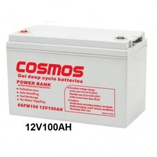 Cosmos 100ah Gel Deep Cycle Inverter Battery