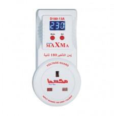 Maxma D180-13A Voltage Guard  - Surge Protector For TV, Electronics