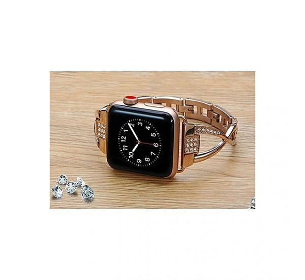 Diamond Elegant Apple Watch Band - W18 -44mm