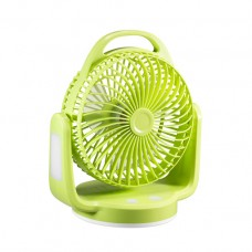 Dp 7620 Led Light Rechargeable Table Fan