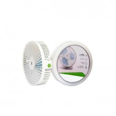 DP 7671 2000mah Multi-function Rechargeable Fan With LED Light, Makeup Mirror, Adjustable