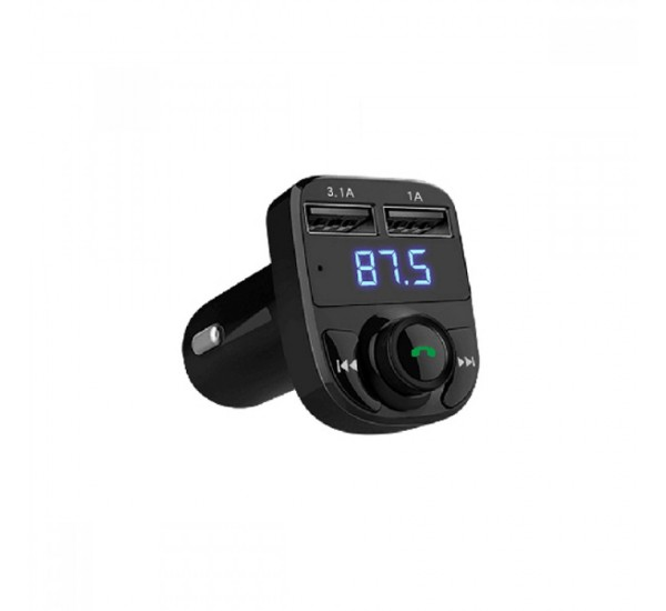 Earldom ET- M29 FM Transmitter Bluetooth, USB, 3.4A, Black