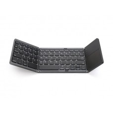 Foldable Bluetooth Keyboard with Touch Pad Wireless