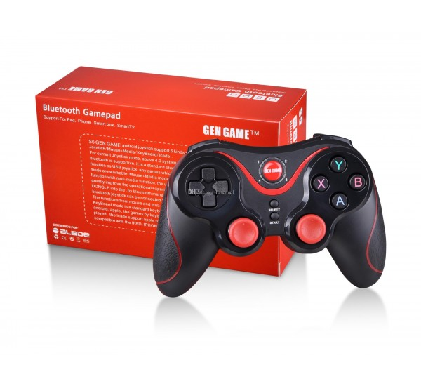 GEN GAME S5 Bluetooth Wireless Game Controller Gamepad Joystick Gamepads for IOS iPhone iPad Android Smart Phone Smart TV