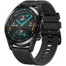 HUAWEI Watch GT 2 (46 mm) Smart Watch, 1.39 Inch AMOLED Display with 3D Glass Screen, 2 Weeks Battery Life, GPS, 15 Sport Modes, 3D Glass Screen, Bluetooth Calling Smartwatch