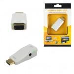 Adapter HDMI to Mini VGA + Audio Converter
