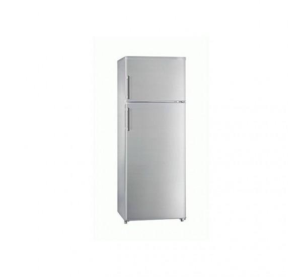Hisense 270 Litres Double Door Silver Refrigerator REF 270