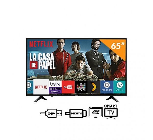 Hisense 65'' UHD 4K HDR Smart & Satellite TV