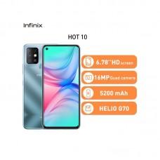 INFINIX HOT 10 64GB ROM, 3GB RAM 5200 mAh