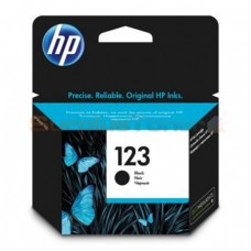HP 123 Black Ink Cartridge