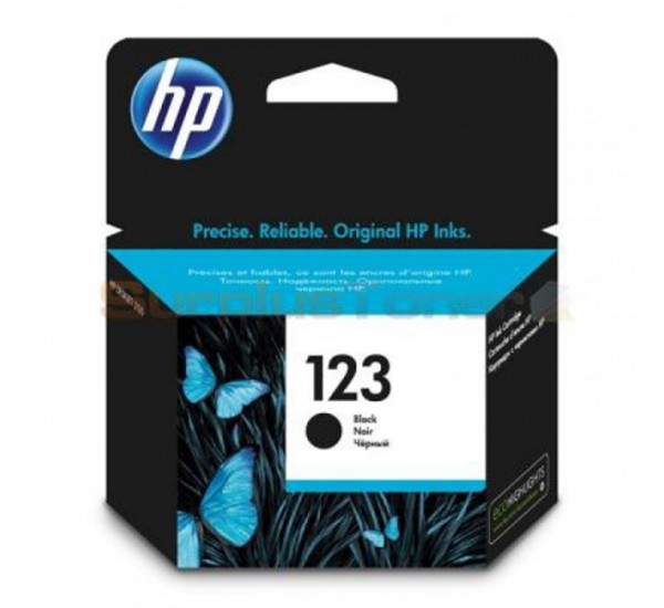 HP 123 Black Cartridge