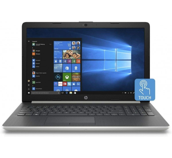 "HP 15 15.6"" Touchscreen Notebook PC - Intel Core i5-8250U 1.6GHz 4GB 16GB Intel Optane 1TB HD DVDRW Windows 10"